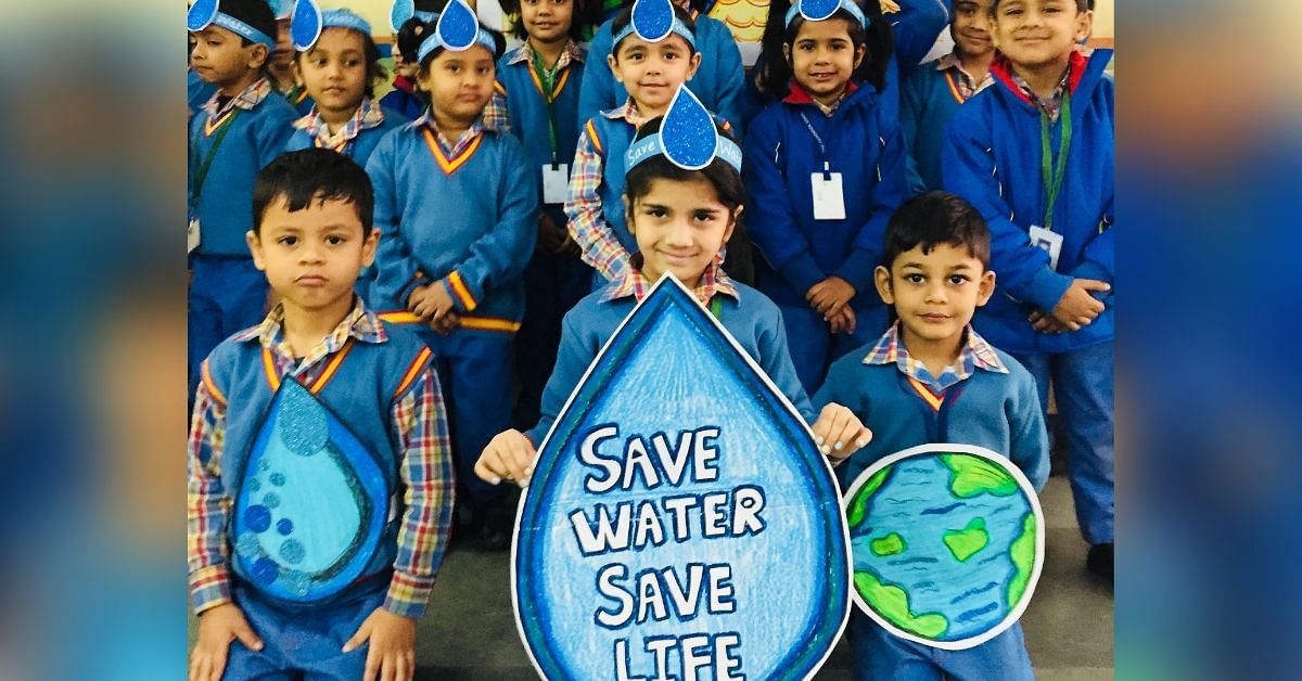 Delhi School Bans Disposable Plastic, Harvests Sun & Rain To Save Rs 10 Lakh/Year!