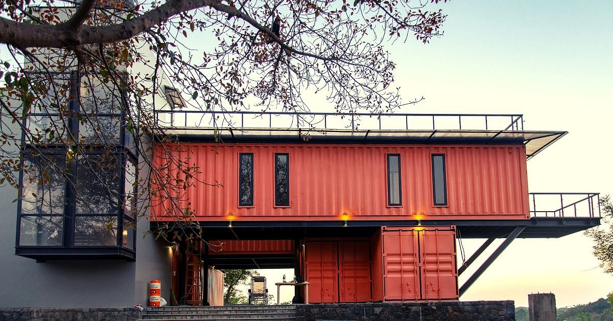 Mumbai Family Reuses Shipping Containers To Build Low-Cost Sustainable Home!