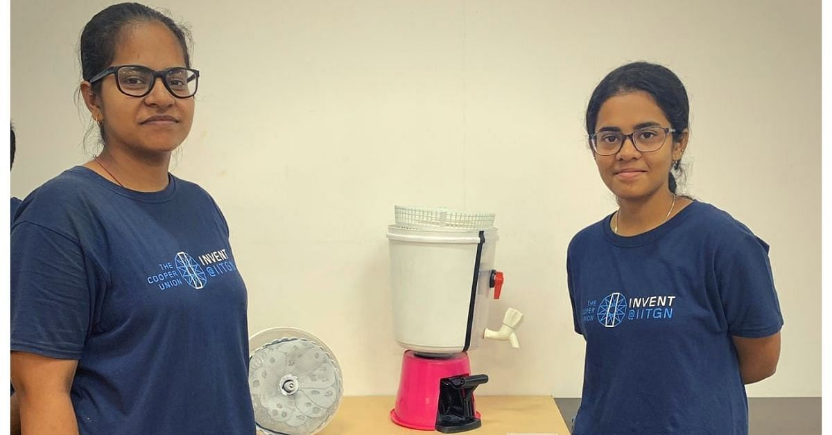 IIT Girls Invent Low-Cost, Zero-Electricity Device to Clean Reusable Sanitary Pads!