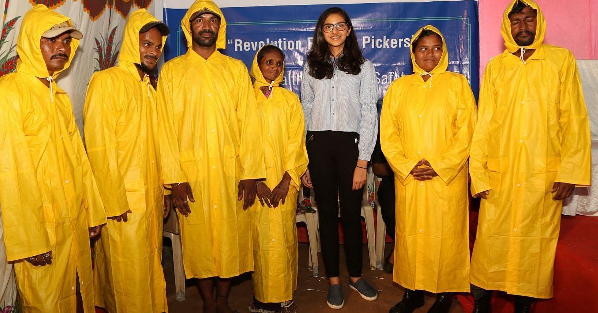 Mumbai Rains: Teenager Distributes Raincoats, Gum Boots To 200 Ragpickers!