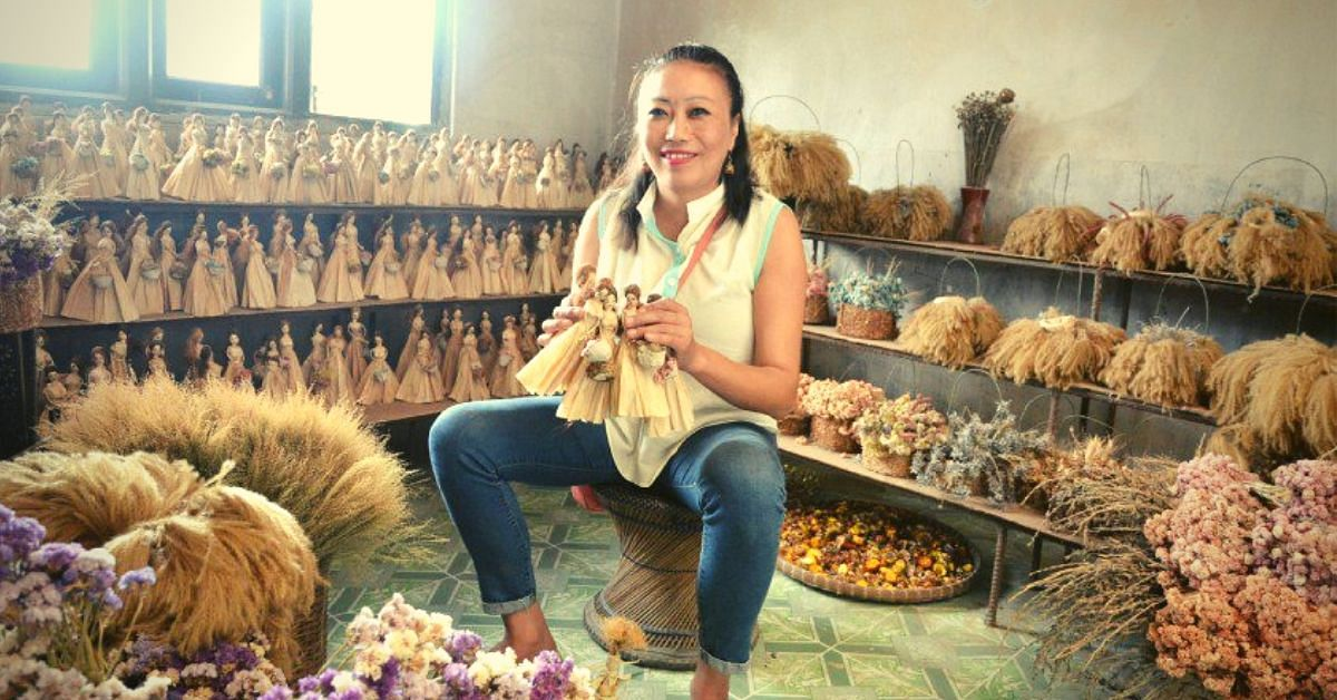Crafting a Green World: Manipur Artist Uses Waste Husk to Make Gorgeous Dolls!
