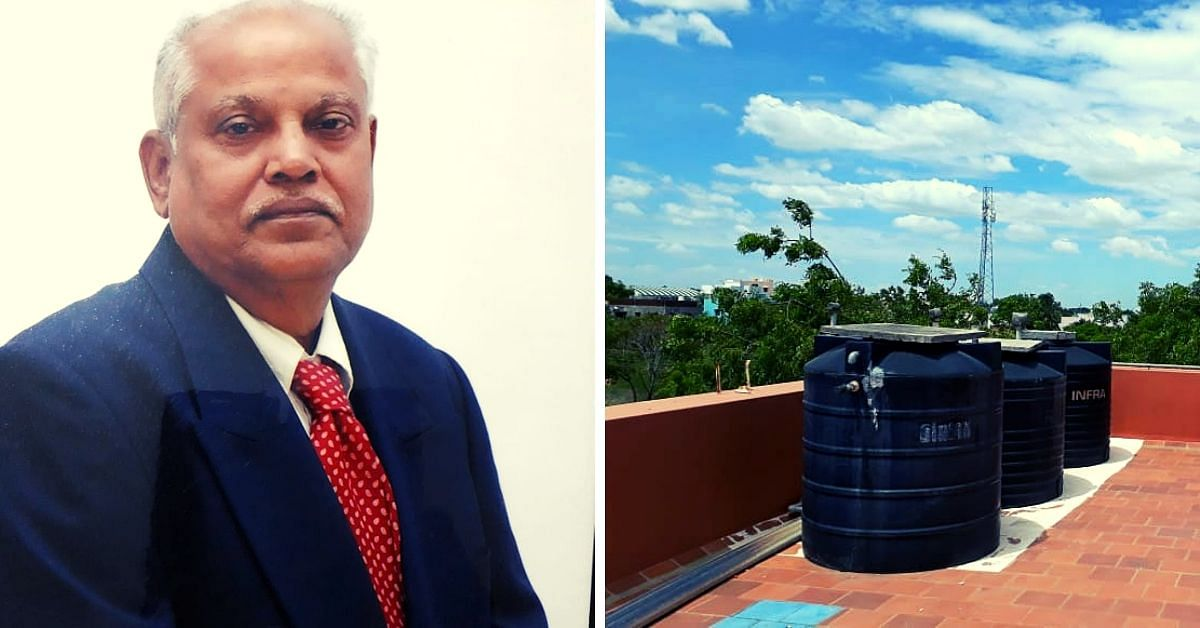 72-YO TN Man Saves 16000 Litres of Water/Year, Hasn't Paid a Bill in 30 Years!