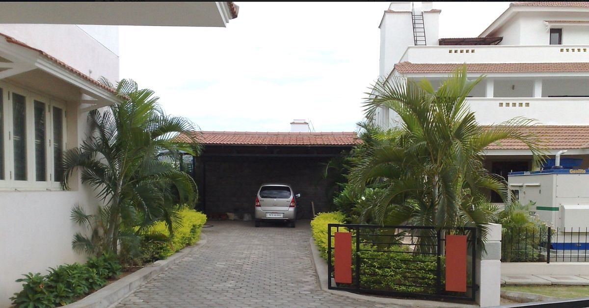 TN Man's Car Parking Space Doubles Up As a Rainwater Harvesting System. Here's How!