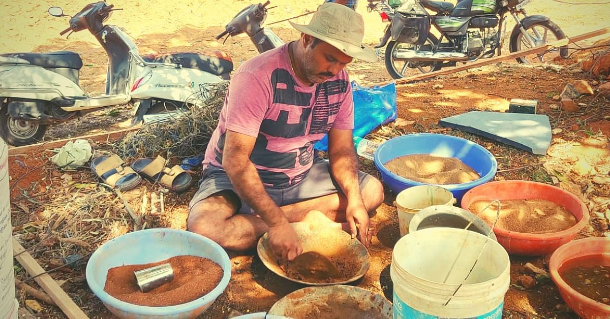 No Mason, Engineer, Steel or Concrete: B'luru Techie Building Dream Home With His Own Hands!