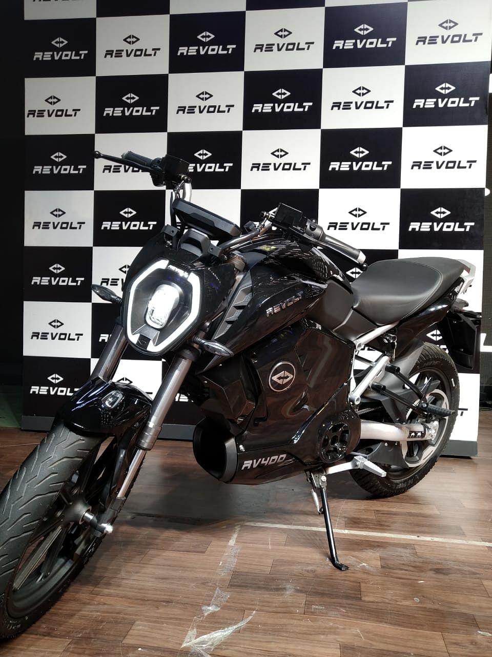 Revolt RV400 (Source: Revolt Motors)