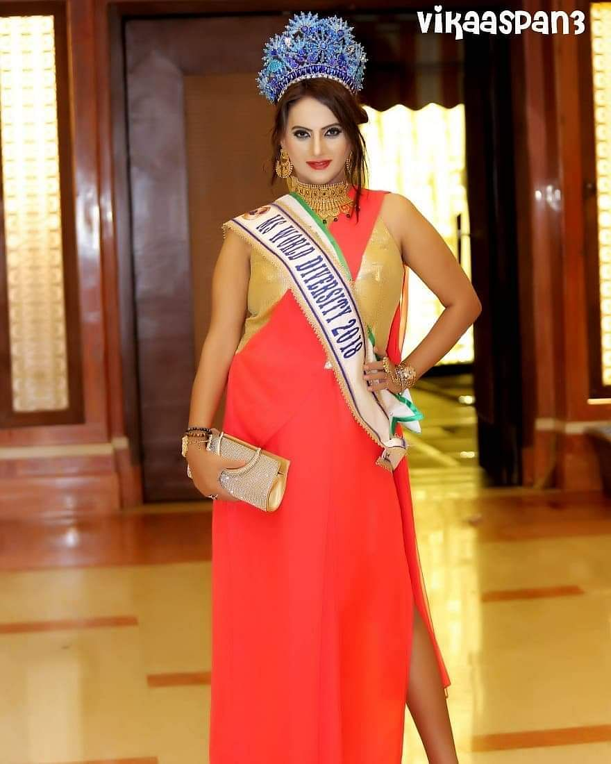 Ms Naaz Joshi has won the World Miss Diversity contest three times in a row.