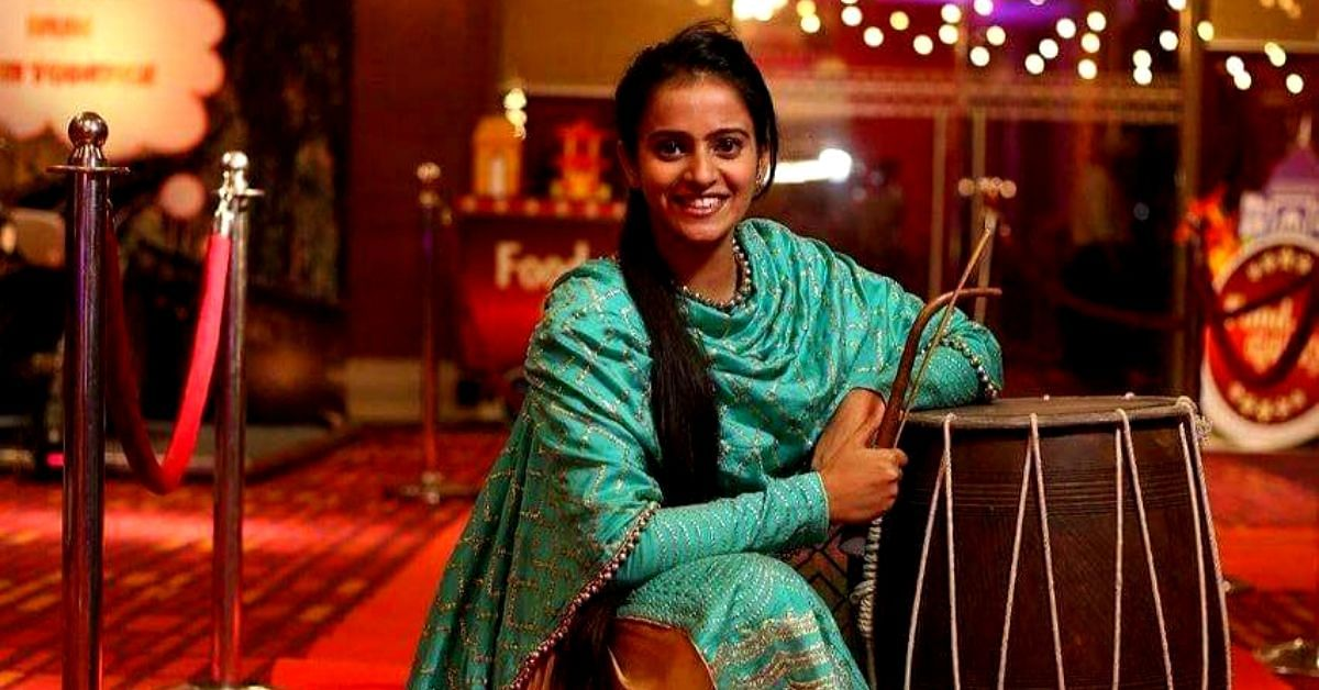 Smashing Stereotypes: At 14, She Was India's Youngest Female Dhol Player!