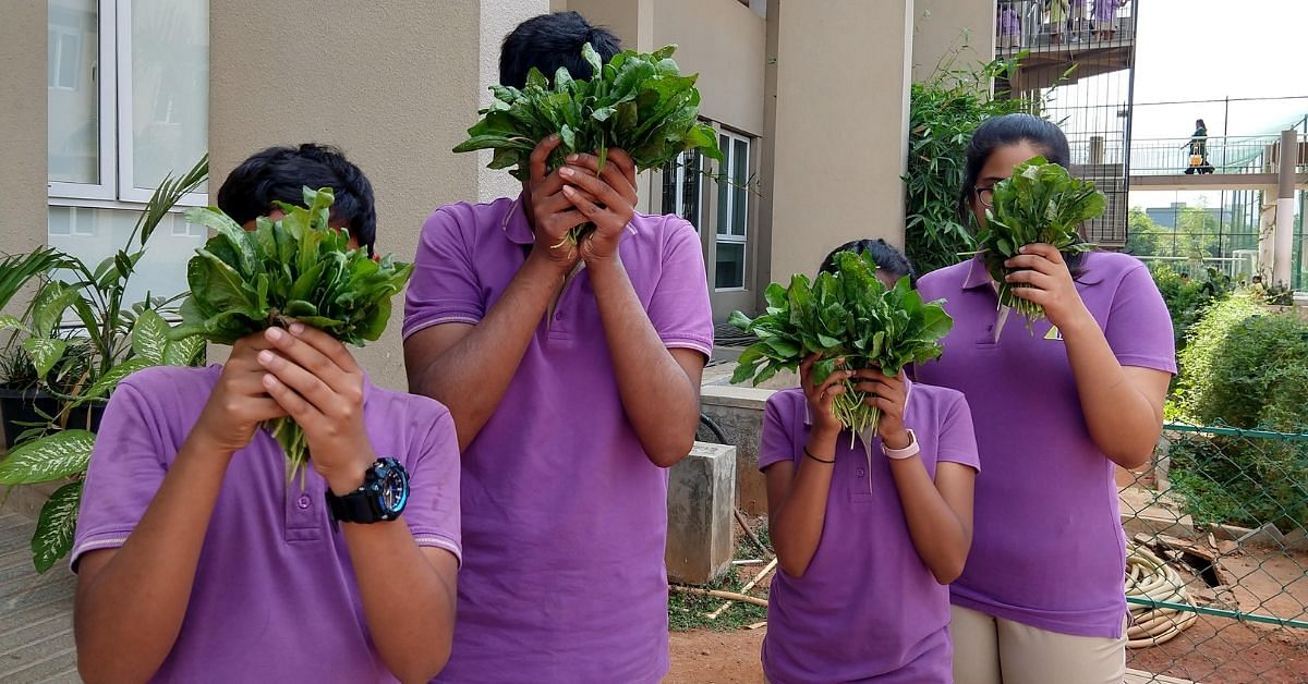 TN Woman Helps Schools, Anganwadis Build Edible Gardens For Students!