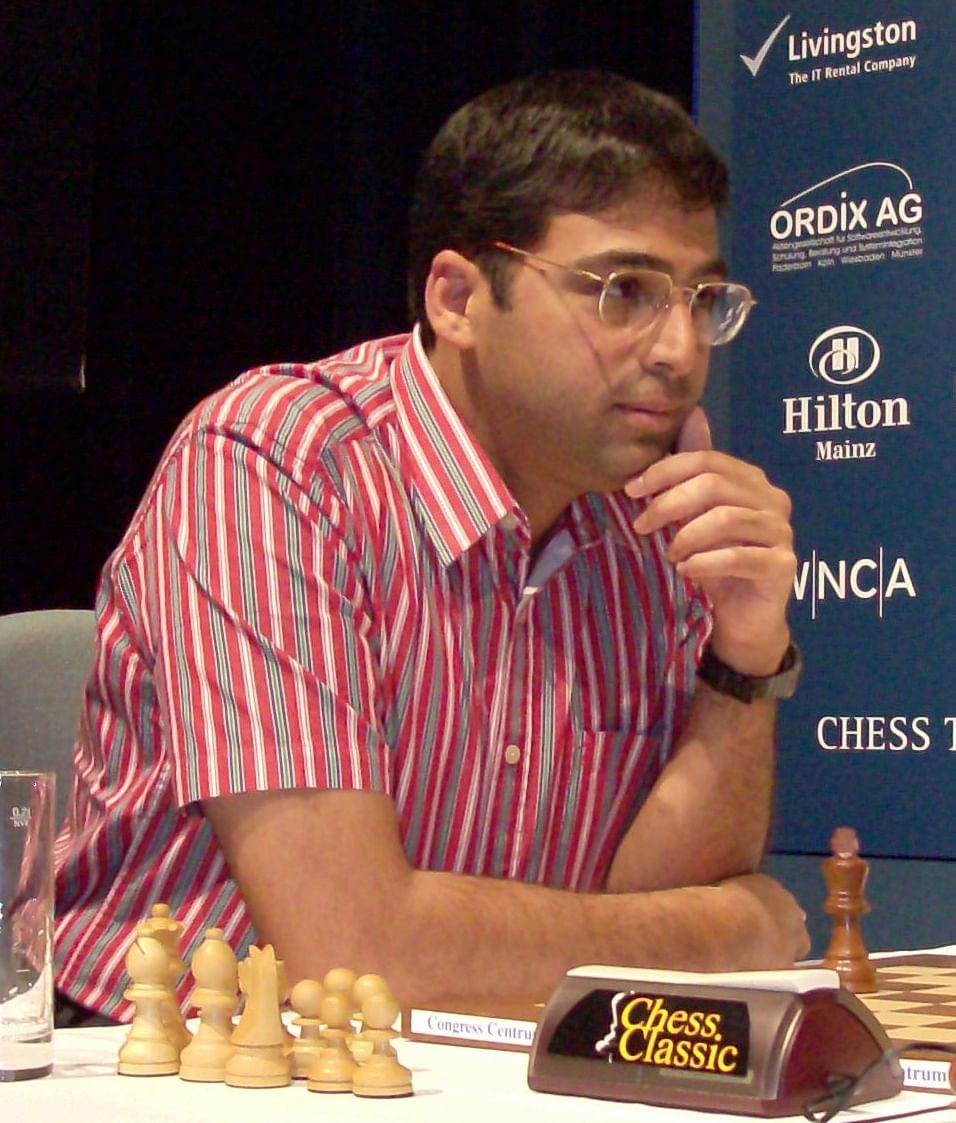 Vishwanathan Anand (Source: Wikimedia Commons)