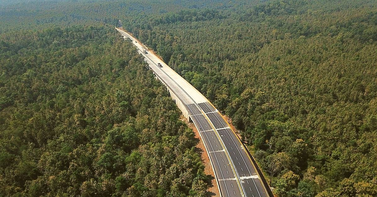 How India's First Dedicated Underpass for Wildlife Was Built on India's NH-7/44