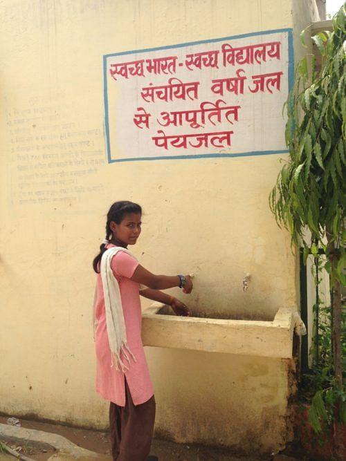 Agra School Harvests 1 Lakh Litres of Rain/Year, Improves Kids' Health