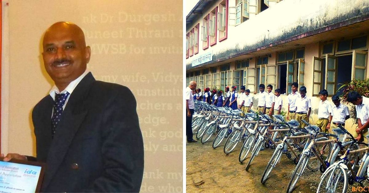 Raised in a Slum, Mumbai Dentist Today Gifts Cycles to Help Tribal School Kids