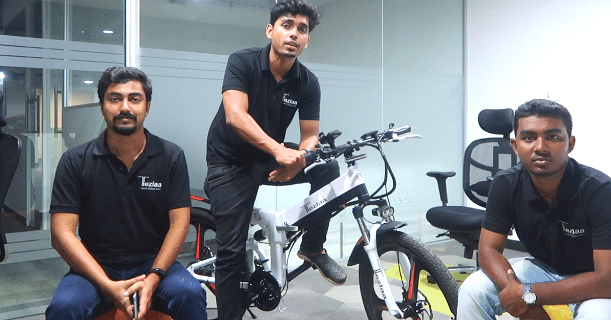 These Kerala Engineers Have Built an Electric Bike You Can Fold & Carry With You