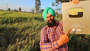 haryana youtube farmer earning lakhs farming leader