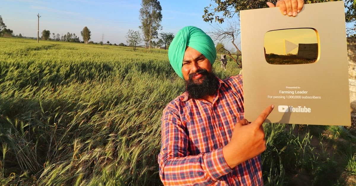 This YouTube Kisan From Haryana Has 2.1 Million Followers, Earns Rs 1-2 Lakhs/Month!
