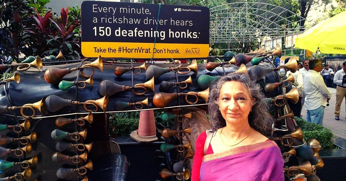 Freedom from Noise: Meet the 58-YO Woman Helping Mumbai Tackle One Of Its Biggest Problems