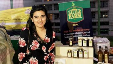 Delhi woman startup organic pickles the little farm Gurgaon madhya pradesh