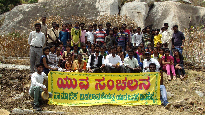 Karnataka school Dropout fight sand mafia save river forest hero India