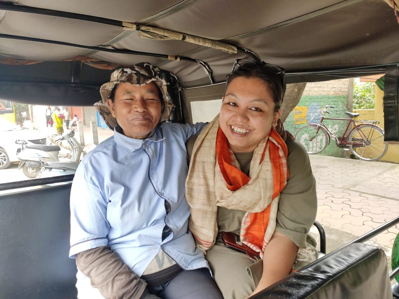 First Woman Auto Driver Manipur
