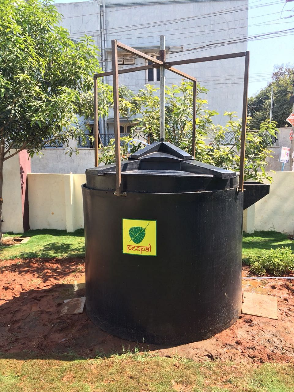 Telangana man startup recycle kitchen waste cut LPG cost biogas home india