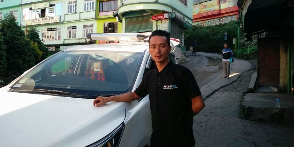 A Wizzride driver partner, also knows Wizzride Trip Captain. (Source: Wizzride)