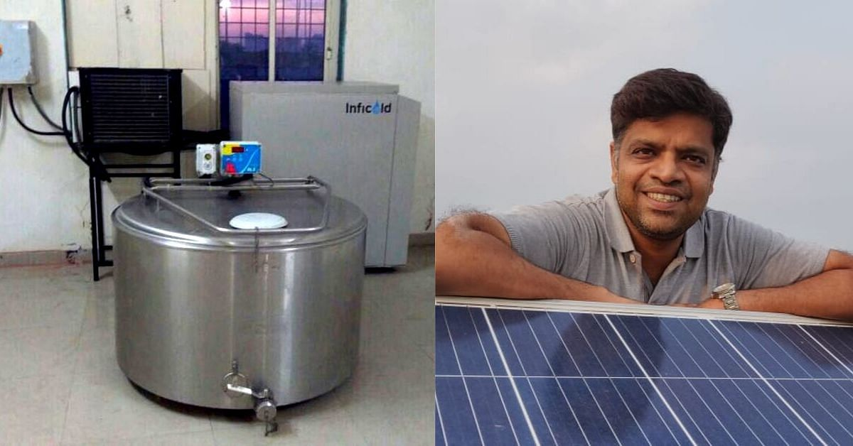 Noida Techies Innovate New System That Can Cool Milk Without Using Electricity!