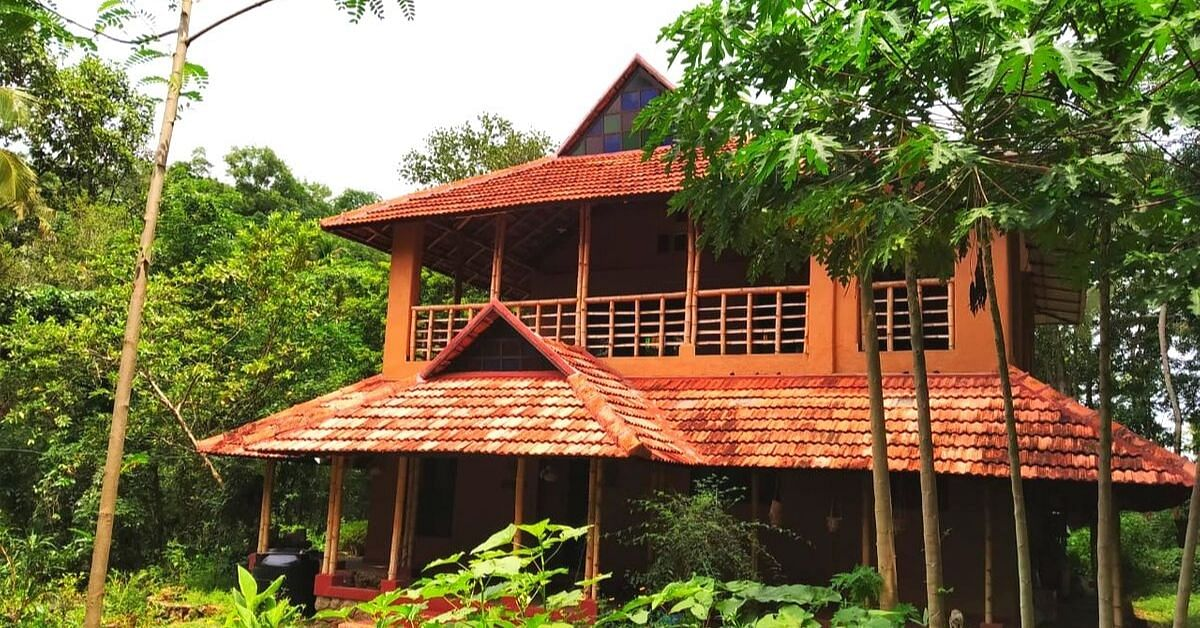 This Kerala Engineer's Fully Recyclable Mud & Bamboo Home Is Green-Tastic!
