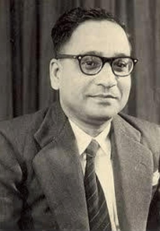 Dr Sambhu Nath De (Source: Indian Academy of Science)