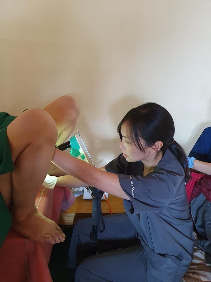 Painless procedure. (Source: Facebook)