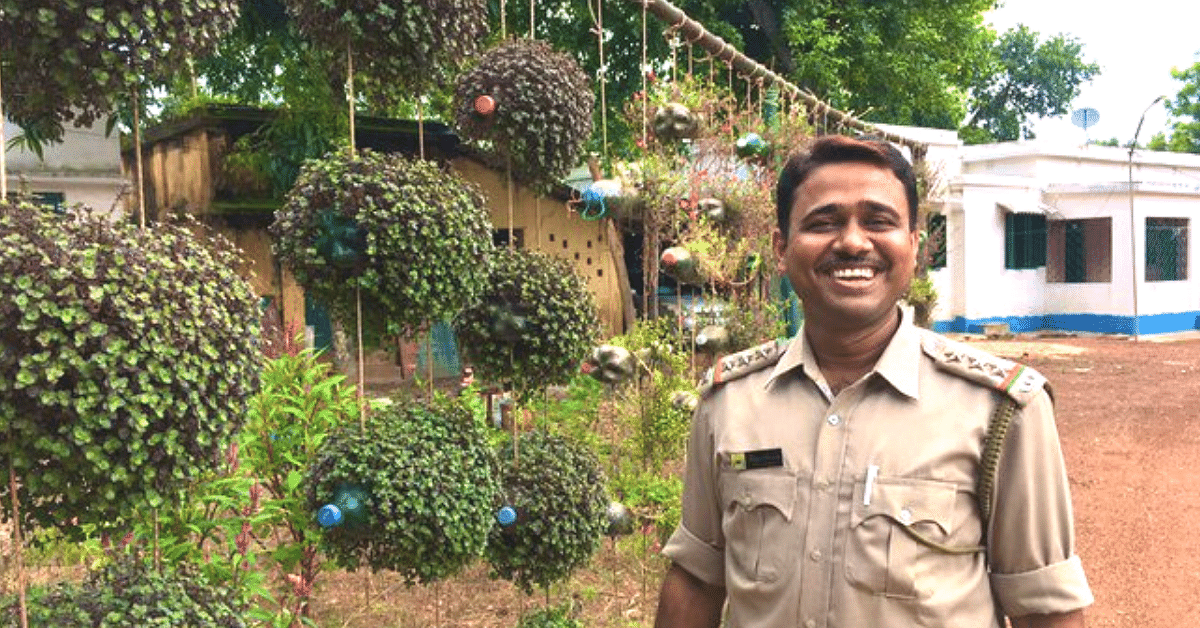 Plastic Bottles to Discarded Tyres: Forest Officer Upcycles Waste Into Stunning Garden!