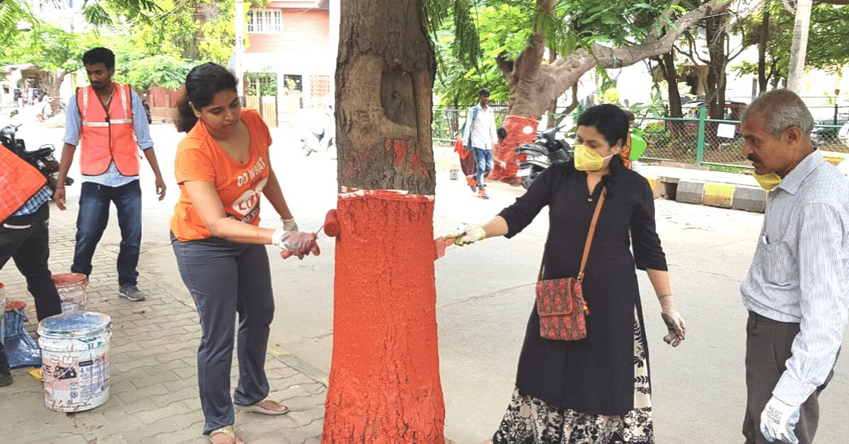 This Bengaluru Citizen 'Adopted' a Street To Transform It & You Can Do It Too!