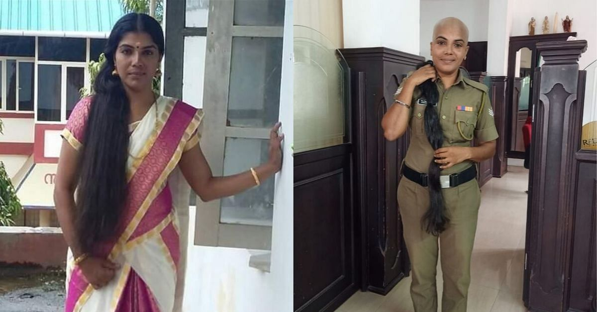 Kerala Policewoman Shaves Head, Donates Waist-Length Hair For Children With Cancer