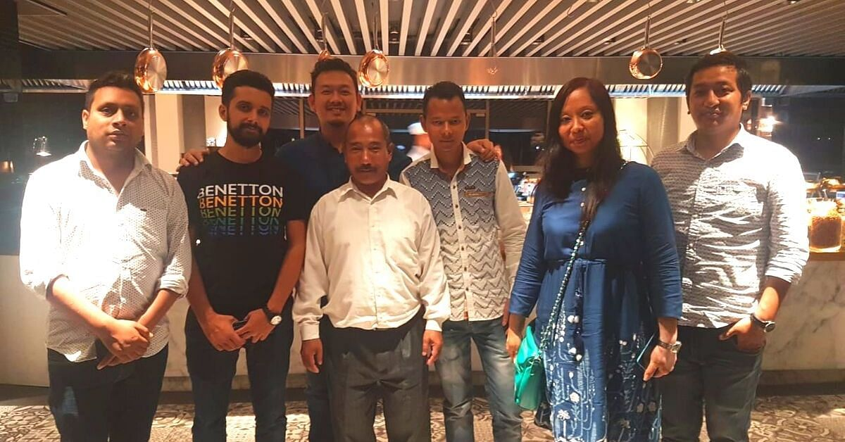 Wizzride Core Team (L-R): Ashish Mittal, Hemant Pandey, Lehsang Bhutia (in the back), Vijay Gurung (Head of Operations, Quality Management, Ajay Singha (Admin-Head), Reema Bhutia (Customer Service Manager), and Jolden Lama (Client Relationship & Experience Manager).