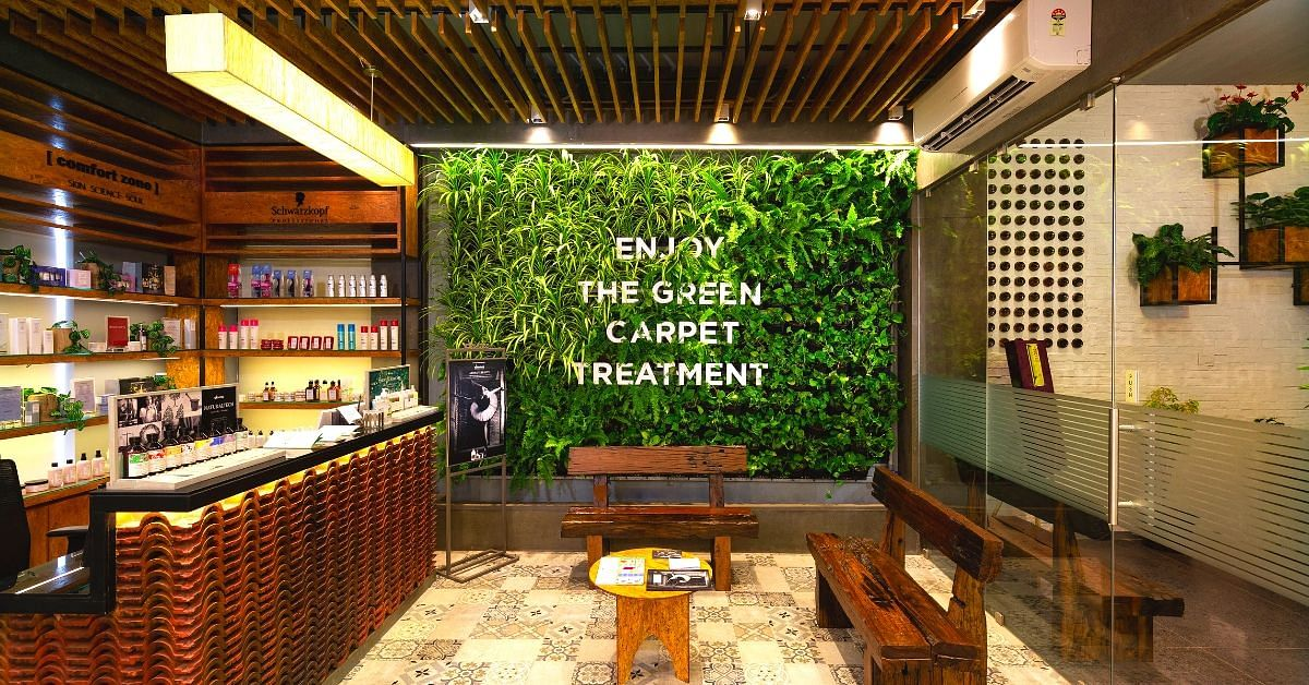 Eco-Friendly Chennai Salon Uses Hemp Towels, Reuses Greywater & Harvests the Sun