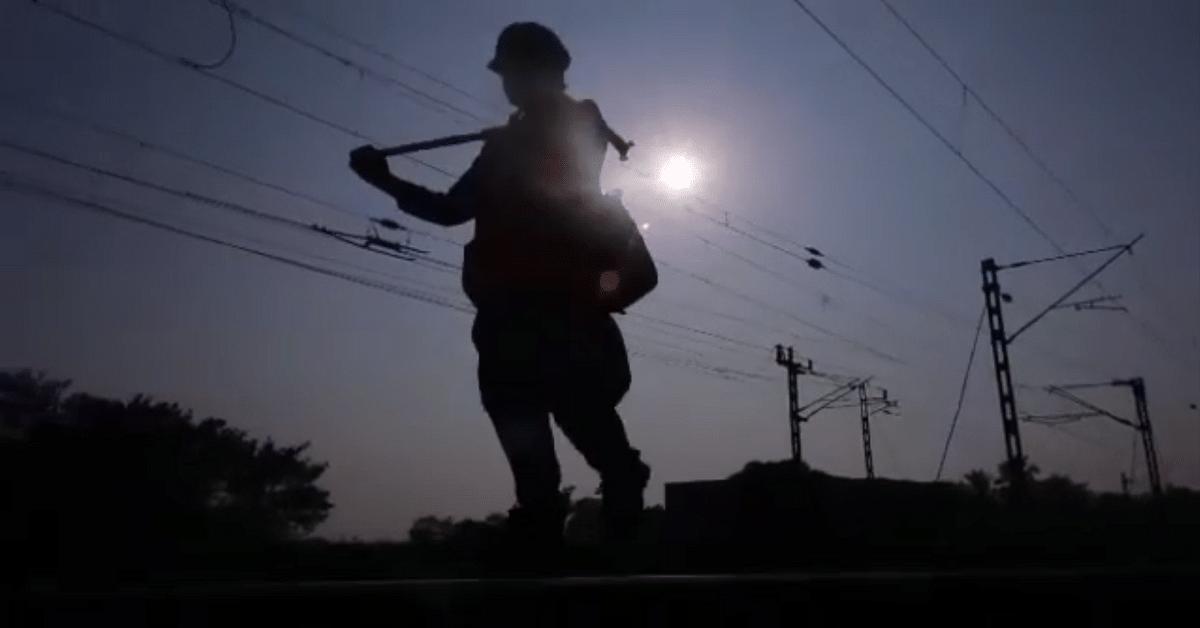 Woman Keyman Railways