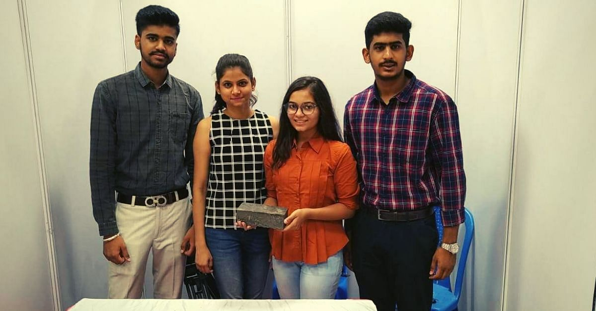 Udaipur Engineering Students Recycle Waste Into Eco-Bricks That Are Water-Resistant!