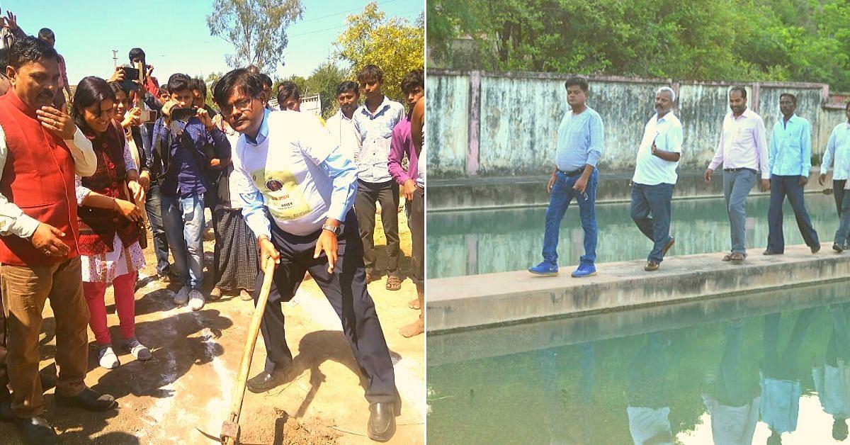 UP IAS Officer Mobilises 470 Drought-hit Panchayats, Revives Wells & Ponds!