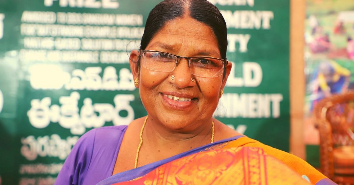This Amazing 49-YO Single Mother Has Planted 2 Million Trees Across 22 Villages!