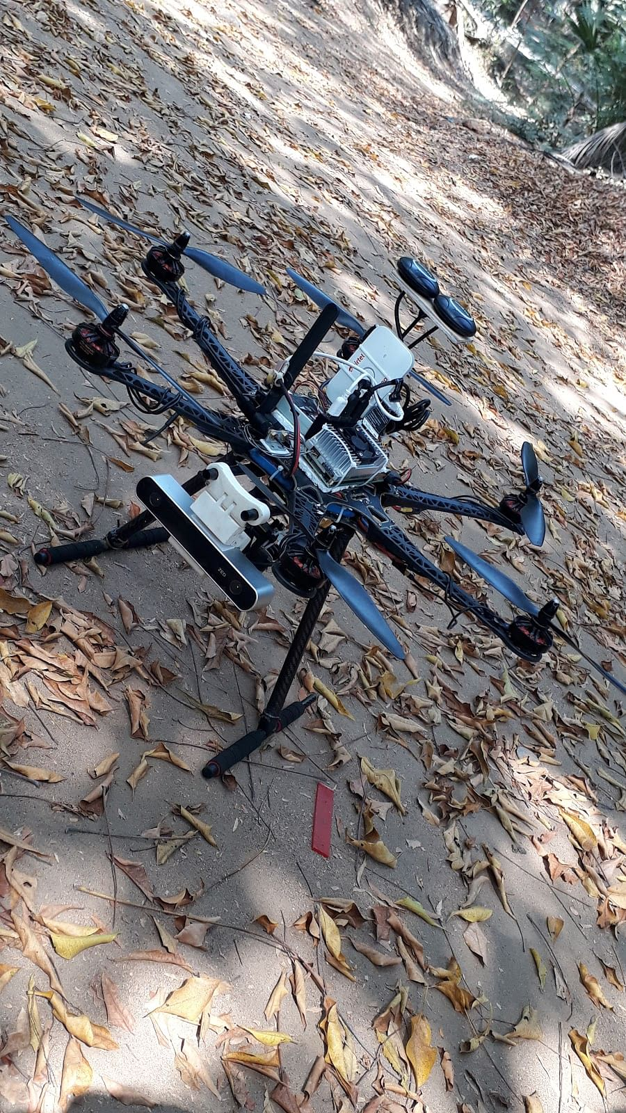 'Eye In The Sky' Drone Device developed by a team from CFI-IIT Madras. (Source: IIT Madras)