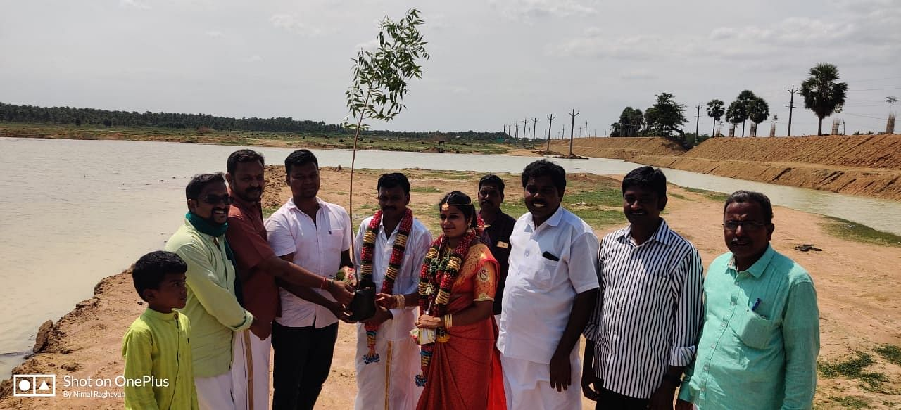 cyclone gaja lake revival techniques hero water scarcity karnataka