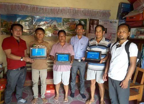Spreading digital literacy across rural Manipur.