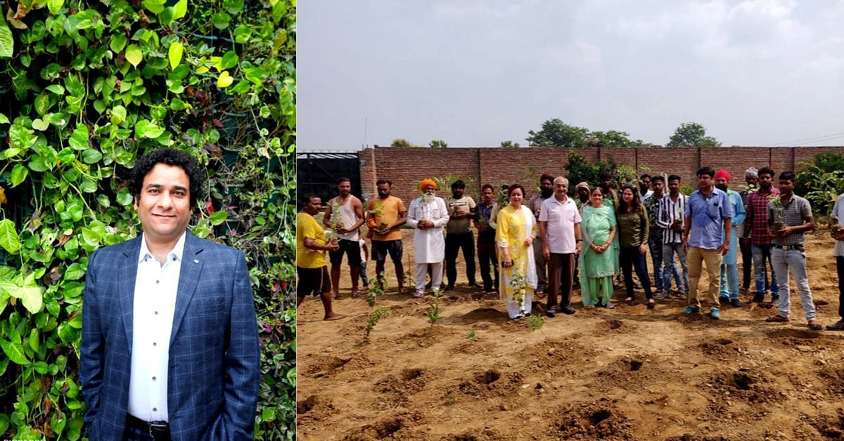Meet the Punjab IRS Officer Who Has Created 25 Mini Forests in Just Over a Year!