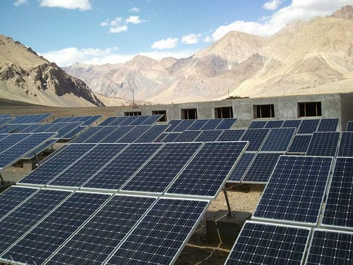 Incredible potential for solar energy in Ladakh. (Source: Facebook)