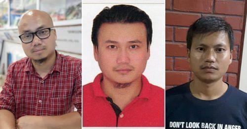 (From L-R) Surjit, Kumarjeet and Hemjit.