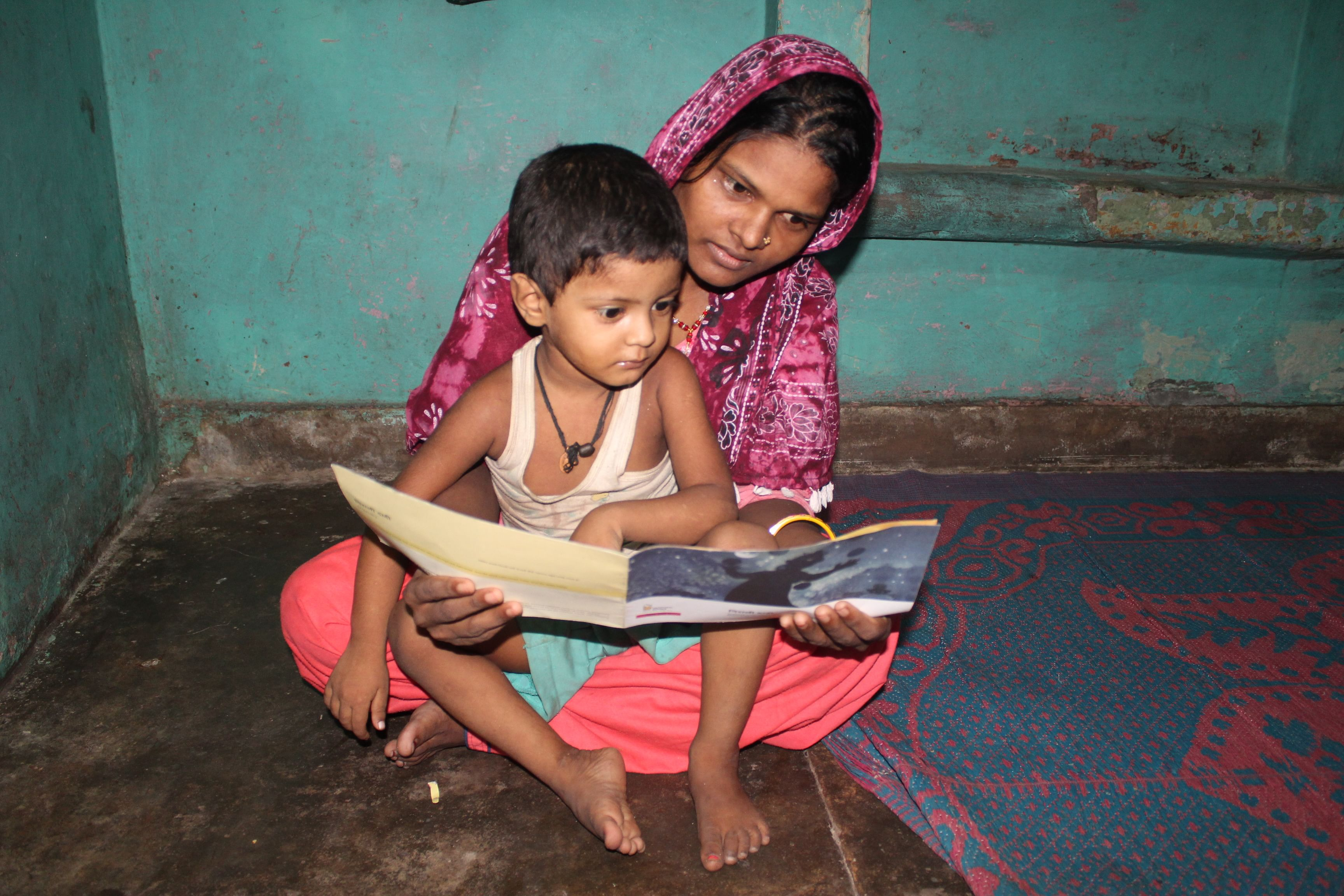 It is critical mothers get involved in their child's education. (Source: Saarthi)