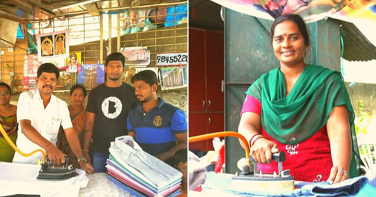 How One Eco-Friendly Change Jumped Incomes From Ironing By 27% in Bengaluru