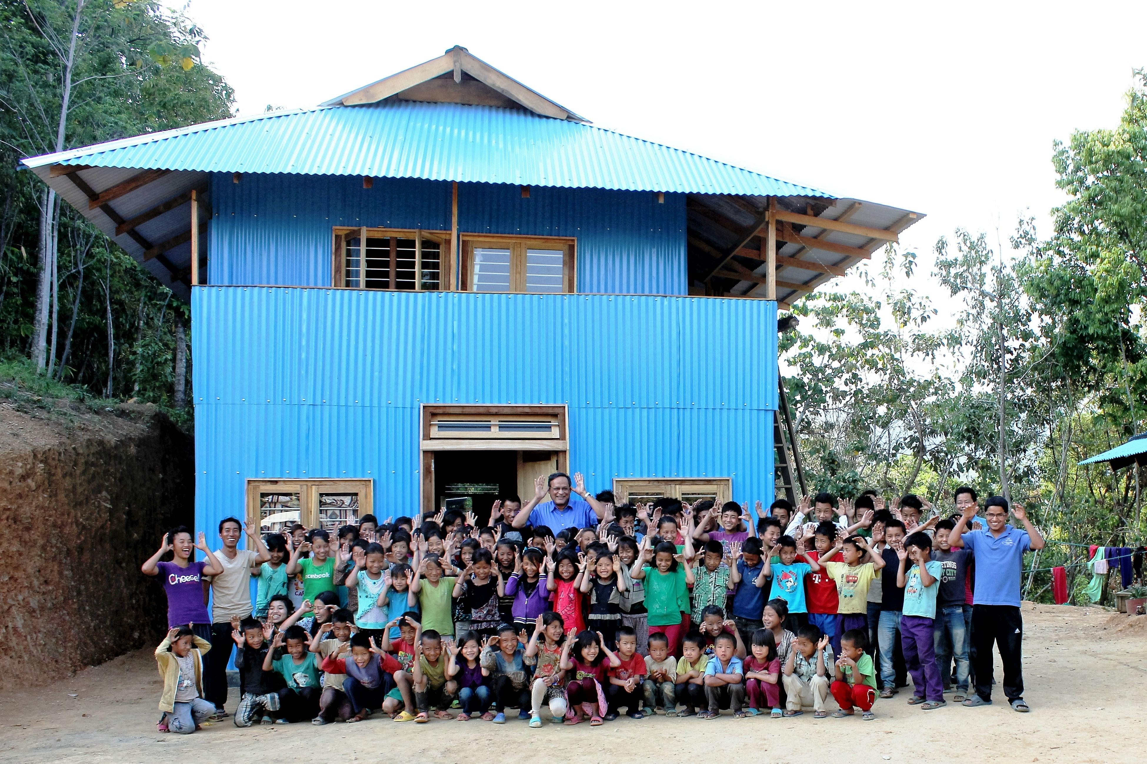 Sunbird Friendship Hostel at Ijeirong Village.