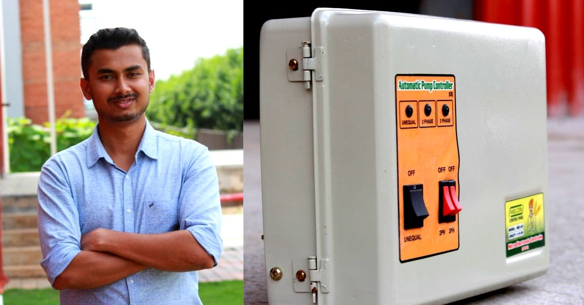 This Startup's Device Runs Water Pumps & Saves Farmer Lives For Just Rs 400!