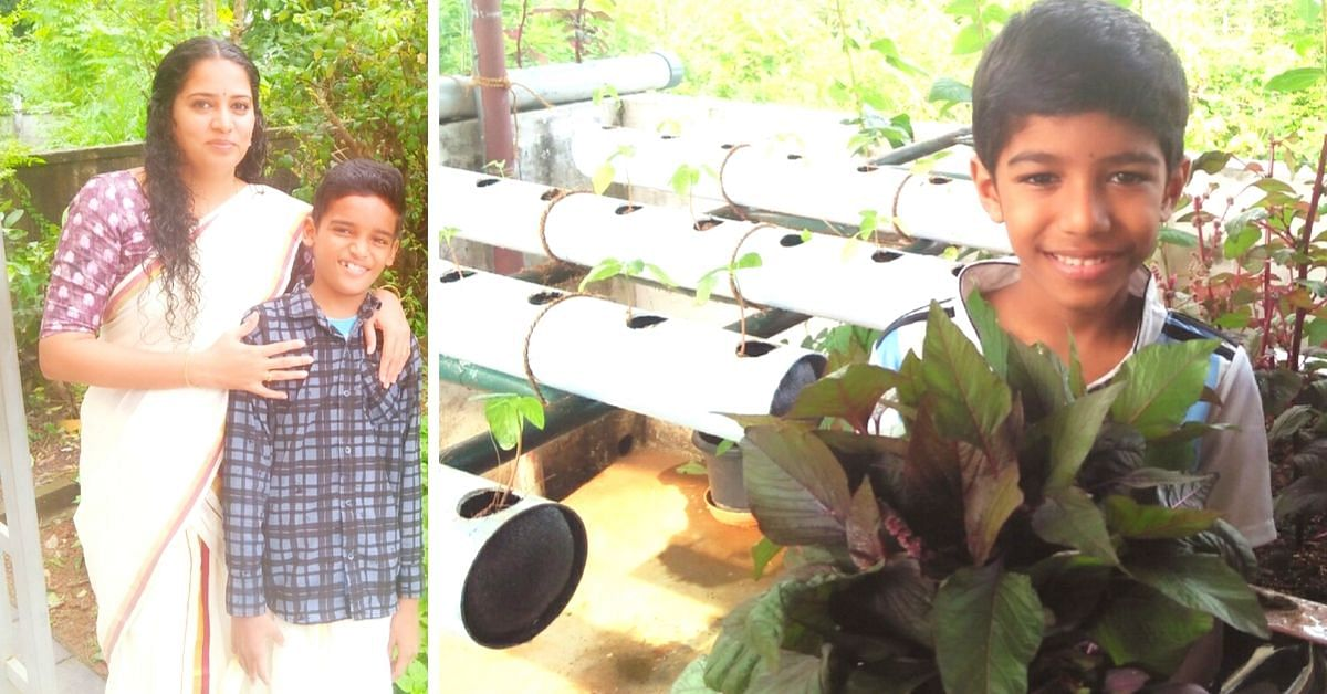 Kerala Homemaker Grows Organic Food in Discarded Pipes, Old Washing Machine!