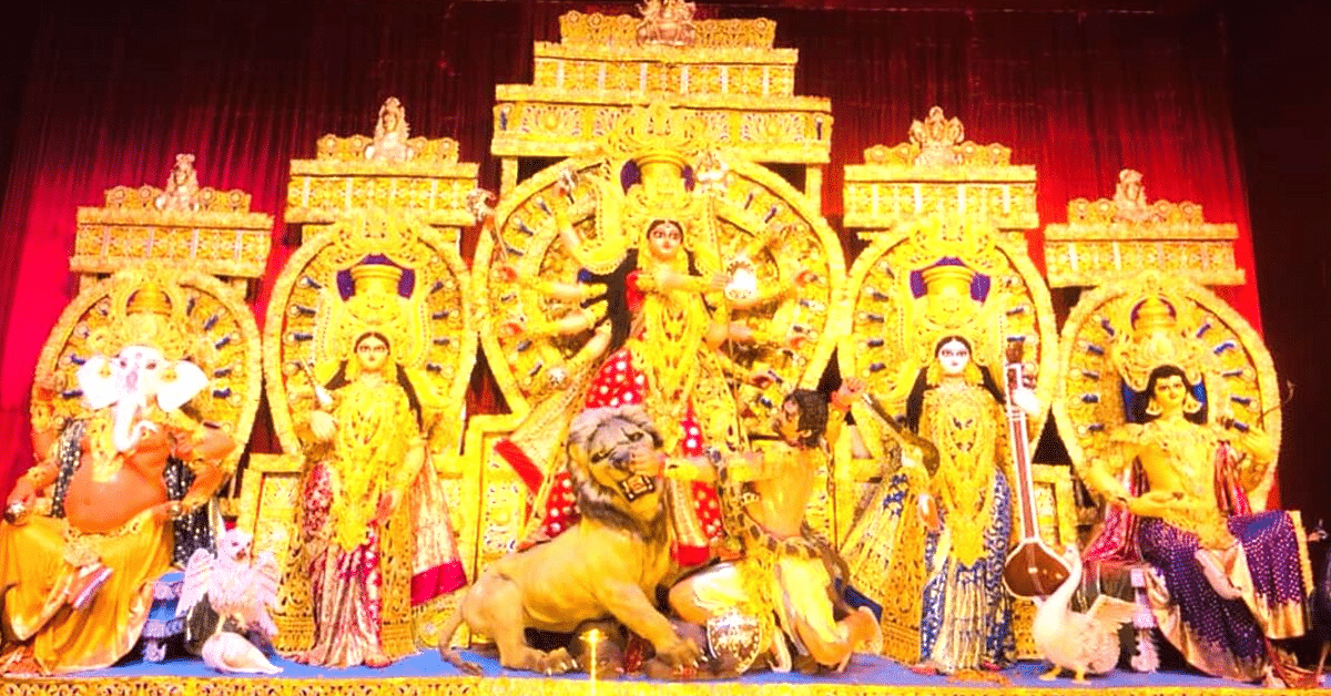 Wild Fruits to Sea Shells: Durga Puja Pandals Across India Are Going Plastic-Free!